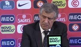 Fernando Santos: «Foi uma vitória justa»