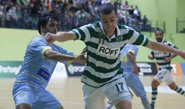 Sporting goleia Quinta dos Lombos (7-1)