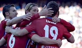 Atlético iguala Barcelona na liderança da Liga espanhola