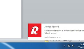 Subscreva as notificações de Record no Chrome