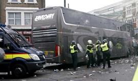 Rooney: «O autocarro ficou em mau estado»