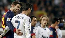 Piqué: «Ronaldo temtudo o que um futebolistapode sonhar... Messi é outra coisa»