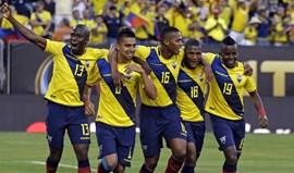 Equador nos quartos de final