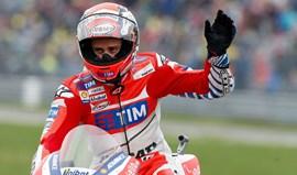 MotoGP: Andrea Dovizioso sai da pole position em Assen