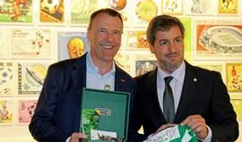 Bruno de Carvalho: «Museu da FIFA quer conhecer mais sobre Peyroteo»