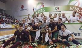 Governo felicitou seleção portuguesa por título europeu