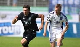 Osnabrück-FC Porto, 1-2: Margem mínima vontade máxima