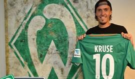 Max Kruse ruma ao Werder Bremen