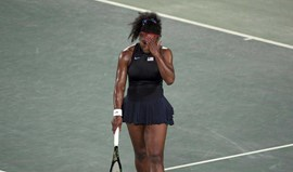 Serena Williams eliminada na 3.ª ronda