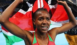 Ouro para a queniana Faith Kipyegon nos 1.500 metros