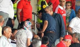 Rui Costa em troca de palavras azeda no jogo da equipa B