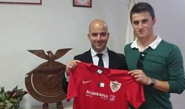 Cristiano Pascoal voltou a treinar sem limitações