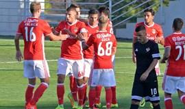 Benfica B-Leixões, 1-0: Diogo Gonçalves resolveu no Seixal