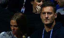 Mulher de Totti 'azeda' relacionamento do marido com o treinador da Roma