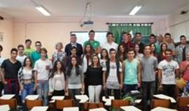David Fernandes e Emanuel Silva voltaram à escola