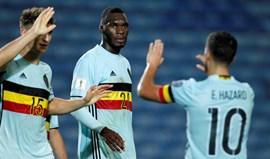 Grupo H: Hat trick de Benteke na goleada da Bélgica no Algarve