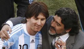 Este é o conselho que Maradona daria a Messi para ganhar o Mundial'2018