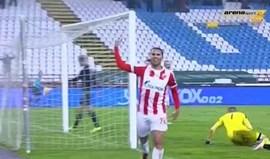 Hugo Vieira continua a brilhar na Sérvia