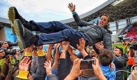 Fabio Cannavaro campeão da 2.ª divisão chinesa