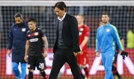 Bayer Leverkusen: Treinador suspenso por dois jogos e multado em 15.000 euros
