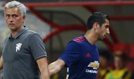 Mkhitaryan: um 'pormenor' de 42 milhões que o United terá colocado no mercado