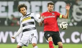 Eintracht Frankfurt e Borussia Moenchengladbach empatam sem golos
