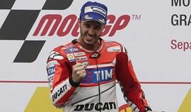 MotoGP: Andrea Dovizioso vence na Malásia