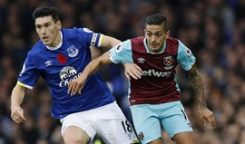 Everton vence West Ham e isola-se no 6.º lugar