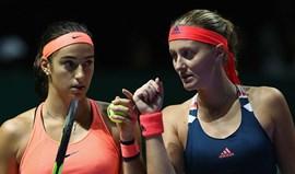 Garcia e Mladenovic confirmadas na final da Fed Cup