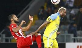 Grupo B: Olympiacos empata em Astana com André Martins em campo