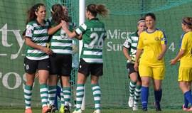 Leoas esmagam CAC Pontinha (10-0)