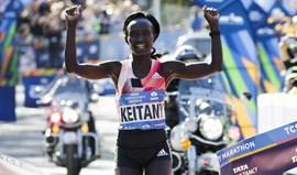 Ghirmay Ghebreslassie e Mary Keitany triunfam na Maratona de Nova Iorque