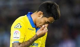Avançado do Las Palmas nove meses na prisão por recusar teste de álcool
