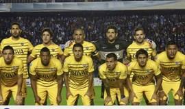 Boca Juniors já aterrou em Sevilha