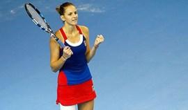 França e República Checa empatadas no primeiro dia da final da Fed Cup