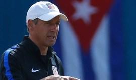 Klinsmann já não é selecionador dos Estados Unidos