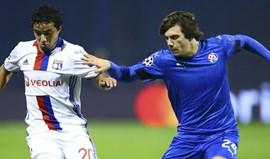 Grupo H: Lyon vence em Zagreb e adia decisão do apuramento