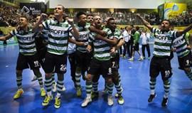 UEFA Futsal Cup: Dynamo-Sporting, 3-3