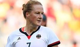 Alemã Melanie Behringer é a surpresa nas finalistas a futebolista do ano da FIFA