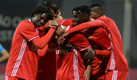 Youth League: Benfica joga playoff na Dinamarca