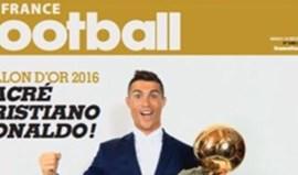 L'Équipe mostrou (sem surpresas) que Ronaldo está mesmo na capa da France Football