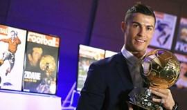 Há quem considere injusta a entrega da Bola de Ouro a Ronaldo
