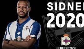 Sidnei renova com o Deportivo até 2020