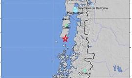 Sismo de 7,6 graus de magnitude no Chile com alerta de tsunami