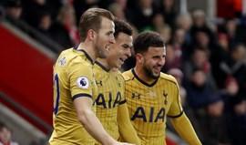 Tottenham atropela Southampton no fecho da jornada