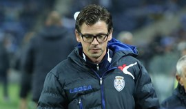 Nuno Manta Santos 'promovido' a treinador principal