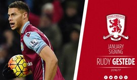 Middlesbrough contrata Rudy Gestede ao Aston Villa