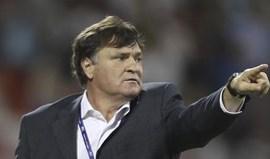 José Antonio Camacho pode deixar o Gabão a poucos dias da CAN