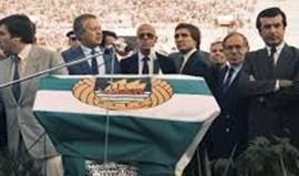 Rio Ave recorda presença de Mário Soares na inauguração do estádio do clube