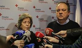 Isabel e João Soares agradecem ao Hospital da Cruz Vermelha cuidados prestados